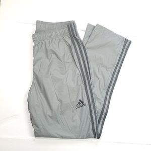 Mens Adidas Performance Gray Track Pants Sz M
